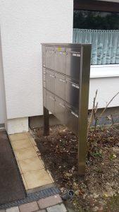 Briefkastenanlage_Fundament_fertig